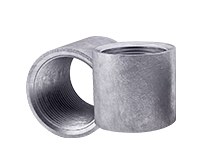 Муфта переходная чугунная 32х20 ГОСТ - сталь -