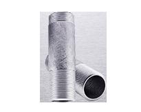 Сгон оцинкованный стальной 40 ГОСТ - сталь -